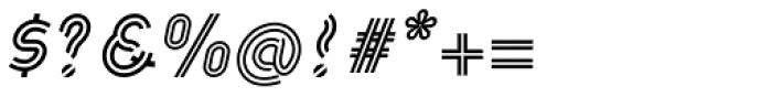 Khamai Pro Rail Italic Font OTHER CHARS