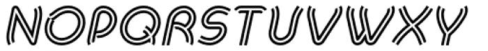 Khamai Pro Rail Italic Font UPPERCASE