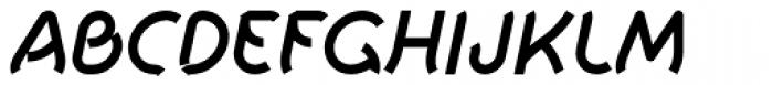 Khamai Pro SemiBold Italic Font UPPERCASE