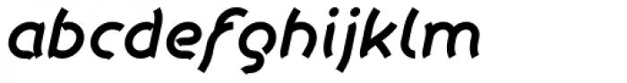 Khamai Pro SemiBold Italic Font LOWERCASE
