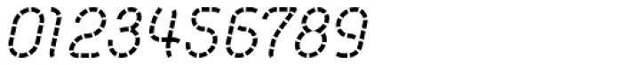 Khamai Pro Staccato Italic Font OTHER CHARS