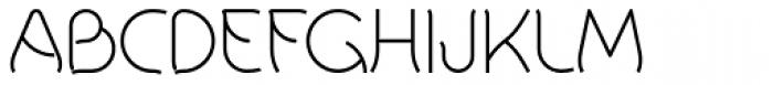 Khamai Pro Thin Font UPPERCASE