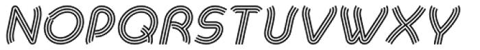 Khamai Pro Tribe Italic Font UPPERCASE