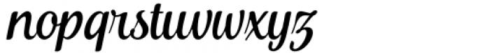 Khamden Script Regular Font LOWERCASE