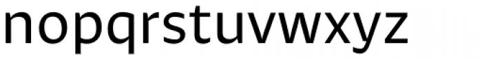 Khang Medium Font LOWERCASE