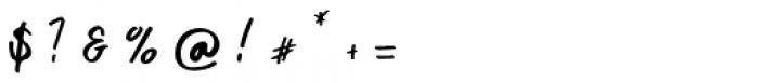 Khatulistiwa Swash Font OTHER CHARS
