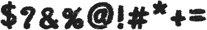 Kid Cloud Bold otf (700) Font OTHER CHARS