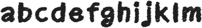 Kid Cloud Bold otf (700) Font LOWERCASE