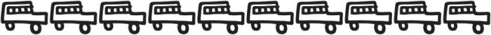 Kidwriting Dingbats Pro Bold otf (700) Font OTHER CHARS