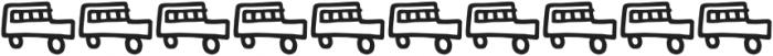 Kidwriting Dingbats Pro DemiBold otf (600) Font OTHER CHARS