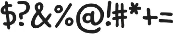 Kidwriting Pro Bold otf (700) Font OTHER CHARS
