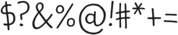 Kidwriting Pro Light otf (300) Font OTHER CHARS