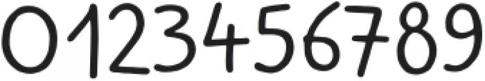 Kidwriting Pro Regular otf (400) Font OTHER CHARS