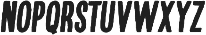 Kikster  black italic otf (900) Font UPPERCASE