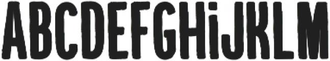 Kikster  black otf (900) Font LOWERCASE