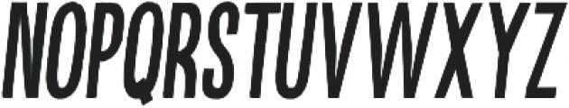 Kikster  bold italic otf (700) Font LOWERCASE