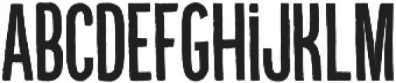 Kikster  bold otf (700) Font UPPERCASE