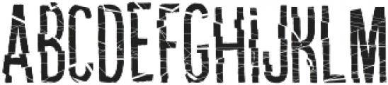Kikster crash regular otf (400) Font UPPERCASE