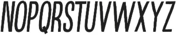 Kikster  italic otf (400) Font UPPERCASE
