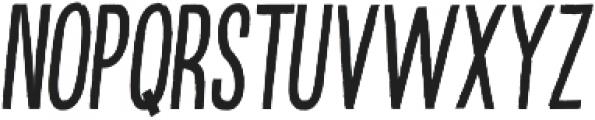 Kikster  italic otf (400) Font LOWERCASE