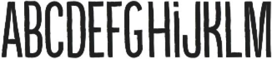 Kikster  regular otf (400) Font UPPERCASE