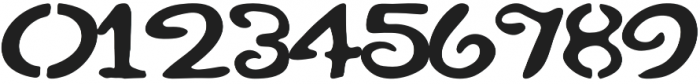 Kikuri otf (400) Font OTHER CHARS