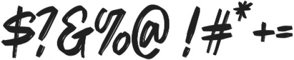 Kilanta Display otf (400) Font OTHER CHARS