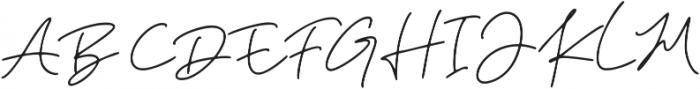 Kileegon Zales ttf (400) Font UPPERCASE