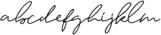 Kileegon Zales ttf (400) Font LOWERCASE