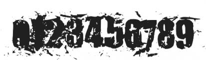 KillerAnts Bold otf (700) Font OTHER CHARS