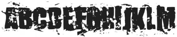 KillerAnts Bold otf (700) Font UPPERCASE