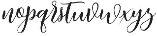 Kimberly Regular otf (400) Font LOWERCASE