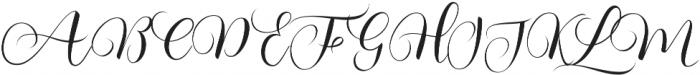 Kimberly Regular ttf (400) Font UPPERCASE