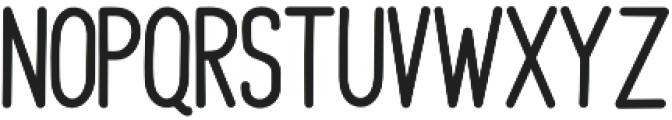 Kimberly Sans Regular otf (400) Font UPPERCASE