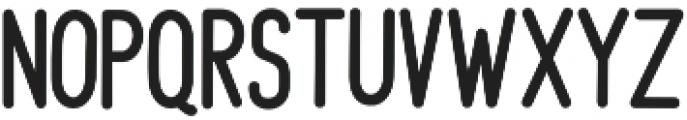 Kimberly Sans Regular otf (400) Font LOWERCASE