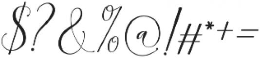 Kimberly Script Regular otf (400) Font OTHER CHARS