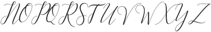 Kimberly Script Regular otf (400) Font UPPERCASE
