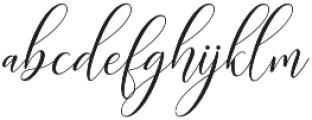 Kimberly Script Regular otf (400) Font LOWERCASE