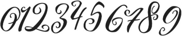 Kimberly otf (400) Font OTHER CHARS
