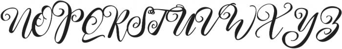 Kimberly ttf (400) Font UPPERCASE