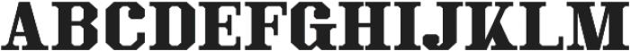 Kimbo Black Capitals otf (900) Font LOWERCASE