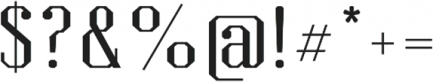 Kimbo Capitals otf (400) Font OTHER CHARS