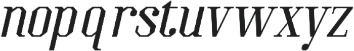 Kimbo Italic otf (400) Font LOWERCASE