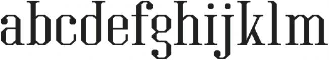Kimbo Regular otf (400) Font LOWERCASE