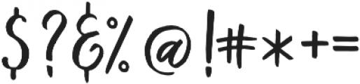 Kind Heart Three otf (400) Font OTHER CHARS