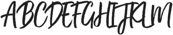 Kind Heart Three otf (400) Font UPPERCASE