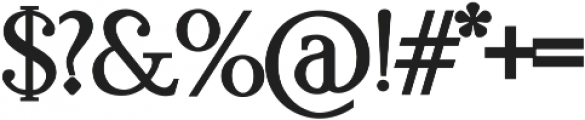 KindSoul Serif Heavy otf (800) Font OTHER CHARS