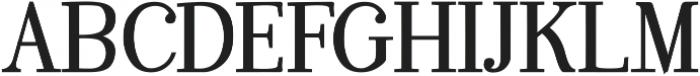 KindSoul Serif Heavy otf (800) Font UPPERCASE
