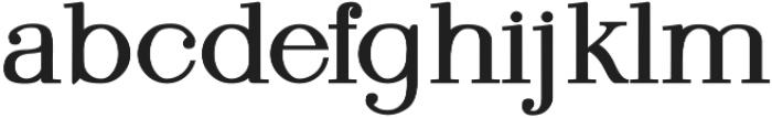 KindSoul Serif Heavy otf (800) Font LOWERCASE