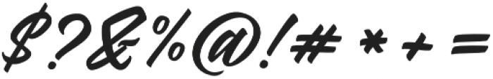 Kindness otf (400) Font OTHER CHARS
